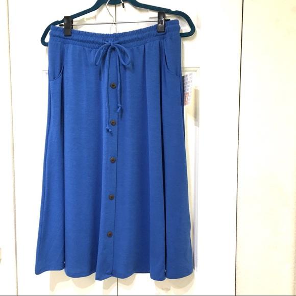 LuLaRoe Marsha XS NWT skirt